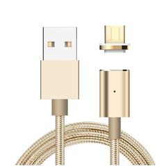 Μαγνητικό Καλώδιο Φόρτισης iPhone/iPad Χρυσό - ELECTRONICS