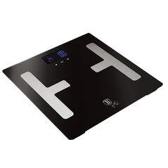 Berlinger Haus Ψηφιακή Ζυγαριά Μπάνιου με Υπολογισμό Λίπους Max 180Kg Black Silver Collection BH-9102 -ΠΡΟΣΩΠΙΚΗ ΦΡΟΝΤΙΔΑ