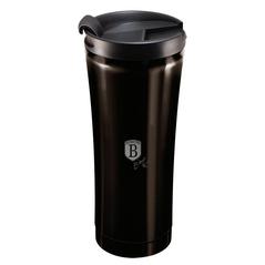 Berlinger Haus Ανοξείδωτο Θερμός - Παγούρι Καφέ 0,5L Μαύρο BH-6821 -ΕΙΔΗ ΤΑΞΙΔΙΟΥ
