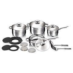 Σετ μαγειρικά σκεύη 15 τεμαχίων από ανοξείδωτο ατσάλι Gourmet Line, Blaumann BL-3197 -ΕΙΔΗ ΜΑΓΕΙΡΙΚΗΣ - ΚΟΥΖΙΝΑΣ