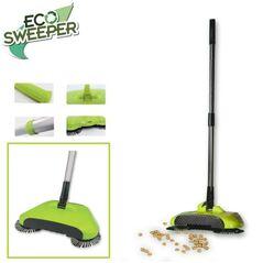 HomeVero ECO Sweeper Χειροκίνητη σκούπα 3 σε 1 για όλες τις επιφάνειες -ΟΙΚΙΑΚΕΣ ΜΙΚΡΟΣΥΣΚΕΥΕΣ