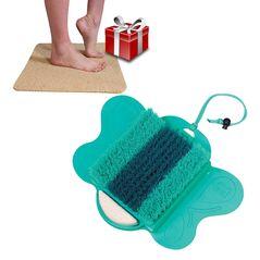 Starlyf Foot Spa Βούρτσα Καθαρισμού, Περιποίησης και Μασάζ Ποδιών με Αντιολισθητικό Χαλάκι Μπάνιου -AS SEEN ON TV