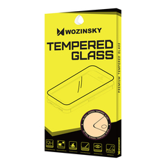 Wozinsky Tempered Glass Full Glue Super Tough Screen Protector Full Coveraged with Frame Case Friendly for Huawei Mate 20 Lite black -Cell phone tempered glass