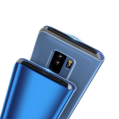 Clear View Case cover with Display for Huawei Mate 20 Lite blue -Cell phone cases and covers