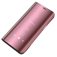 Clear View Case cover for Xiaomi Redmi Note 7 pink -Cell phone cases and covers