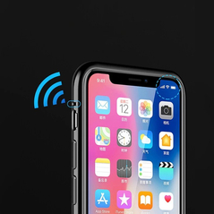 Wozinsky Full Magnetic Case Full Body Front and Back Cover with built-in glass for iPhone 11 Pro Max black-transparent -Cell phone cases and covers