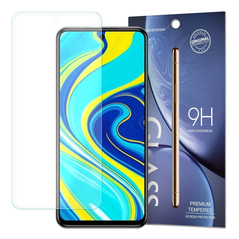 Tempered Glass 9H Screen Protector for Xiaomi Redmi Note 9 Pro / Redmi Note 9S / Poco X3 NFC (packaging – envelope) -Cell phone tempered glass
