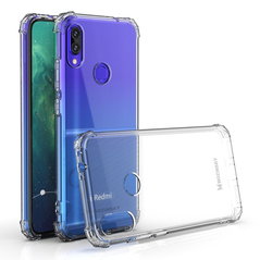 Wozinsky Anti Shock durable case with Military Grade Protection for Xiaomi Redmi Note 7 transparent -Cell phone cases and covers