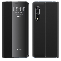 New Sleep Case Bookcase Type Case with kickstand function for Huawei P30 black -Cell phone cases and covers