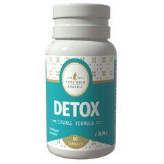 Detox Cleanse Formula Φυτικό Συμπλήρωμα για Αποτοξίνωση του Οργανισμού 60 Κάψουλες -ΠΡΟΣΩΠΙΚΗ ΦΡΟΝΤΙΔΑ