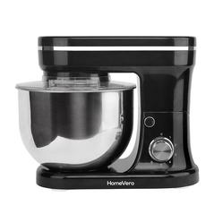 HomeVero Επιτραπέζιο μίξερ - Κουζινομηχανή 1200W σε μαύρο χρώμα HV-24461BL -ΗΛΕΚΤΡΙΚΕΣ ΜΙΚΡΟΣΥΣΚΕΥΕΣ ΚΟΥΖΙΝΑΣ