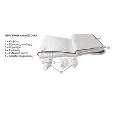 Beper RI.411 Διπλή θερμαινόμενη ηλεκτρική κουβέρτα -ΕΠΟΧΙΑΚΑ