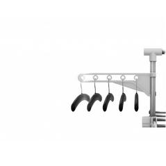 HG-5015-WH Απλώστρα Αναδιπλούμενη & Πολυλειτουργική Herzberg -ΕΙΔΗ ΣΠΙΤΙΟΥ