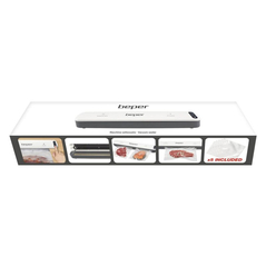 Beper Συσκευή σφραγίσματος τροφίμων με κενό αέρος - vacuum P102CON001 -ΗΛΕΚΤΡΙΚΕΣ ΜΙΚΡΟΣΥΣΚΕΥΕΣ ΚΟΥΖΙΝΑΣ