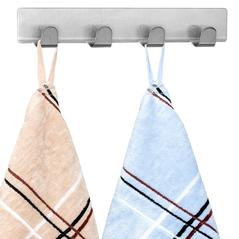 Tatkraft Σετ κρεμάστρες για πετσέτες με αυτοκόλλητο 2 τμχ T10789 -ΕΙΔΗ ΣΠΙΤΙΟΥ