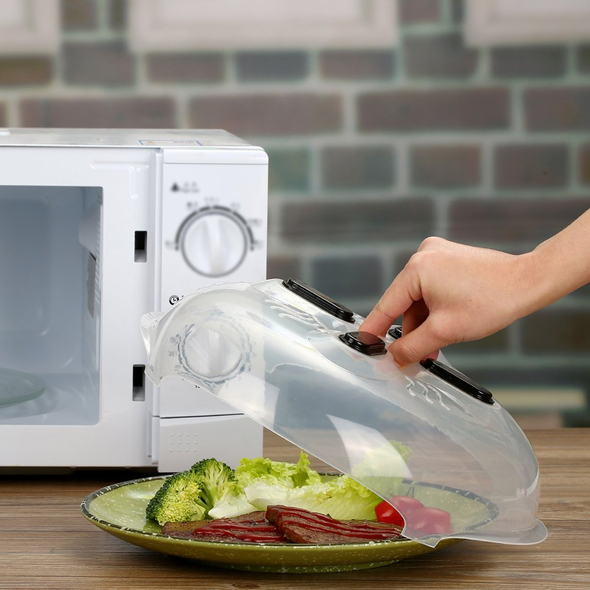 Microwave Cover Splatter Protection -HOUSEHOLD & GARDEN