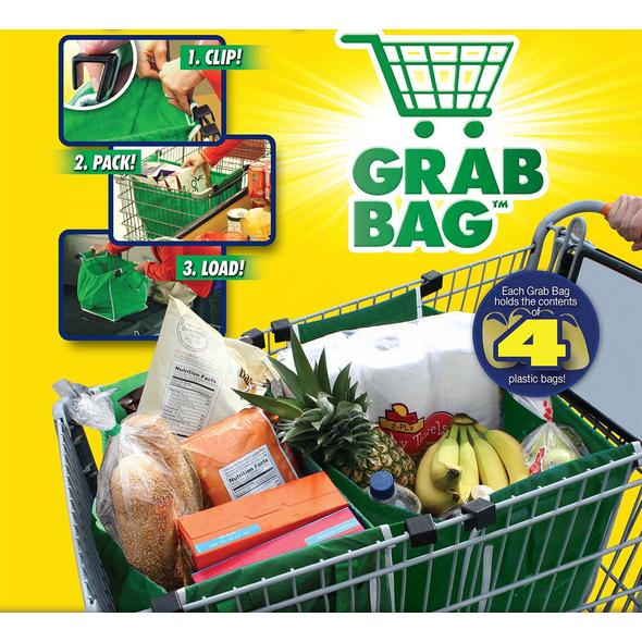 Grab Bag® Τσάντα Για Αγορές Επαναχρησιμοποιούμενη -TOOLS