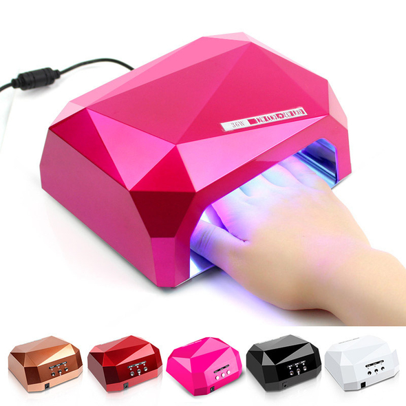 Nail Oven UV 36W LED + CFL -FASHION STYLING