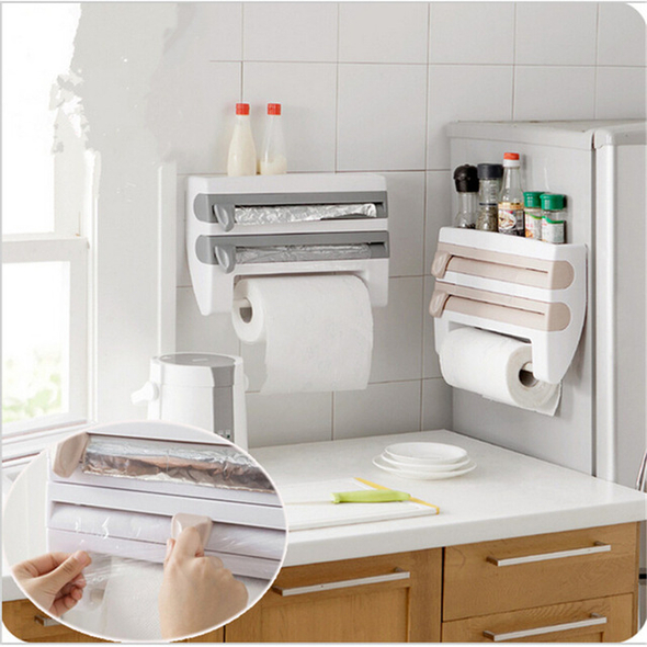 Kitchen Wall Rack -HOUSEHOLD & GARDEN
