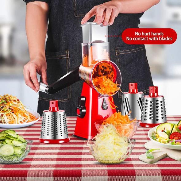 Πολυ Τρίφτης NutriSlicer® 3 Είδη Κοπών Ανοξείδωτος -HOUSEHOLD & GARDEN